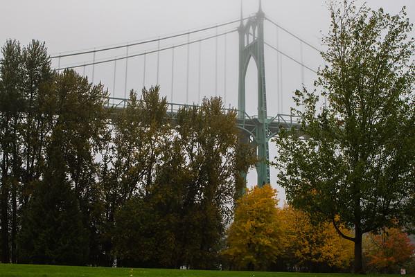 Portland's prettiest bridge, the St Johns